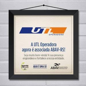 Placa de associada ABAV-RS.